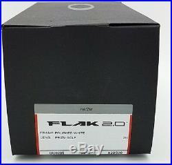 NEW Oakley Flak 2.0 sunglasses Polished White Prizm Golf 9295-06 AUTHENTIC 9295