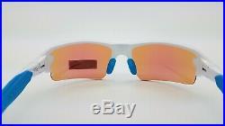 NEW Oakley Flak 2.0 sunglasses White Prizm Golf 9271-17 AUTHENTIC flak jacket