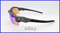 NEW Oakley Flak Draft sunglasses Steel Prizm Golf 9373-0470 Asian Fit 9364 G30