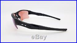 3095e857705 NEW Oakley Flak Jacket XLJ sunglasses Jet Black G30 Iridium 03-921 GENUINE  Golf