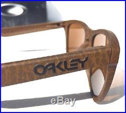 NEW Oakley Frogskins Tobacco w DARK Bronze Sunglass 9013-76 Golf Bike Run