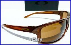 NEW Oakley GIBSTON Tortoise Sport Wrap PRIZM Golf Bronze Sunglass 9449-02