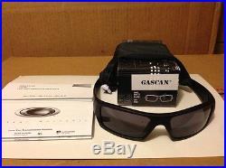 NEW Oakley Gascan Sunglasses Matte Black / Grey Lens, 03-473