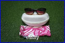 NEW Oakley Golf Commit Awareness Ladies Polarized Sunglasses Black/Pink