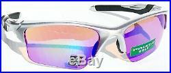 NEW Oakley HALF JACKET 2.0 Silver frame PRIZM Golf lens Sunglass 9154-60