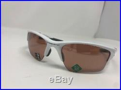 NEW Oakley Half Jacket 2.0 XL Pol. White Prizm Dark Golf OO9154-6362 Sunglasses