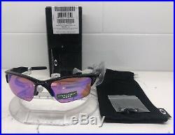 NEW Oakley Half Jacket 2.0 XL sunglasses Black Frame with Prizm Golf Lens 9154-49