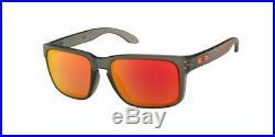 NEW Oakley Holbrook 9102-E7 Prizm Sports Surfing Golf Skate Race Ski Sunglasses