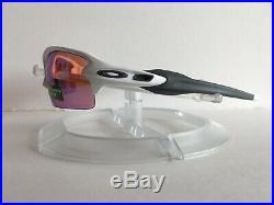 NEW Oakley Mens OO9295-06 Flak 2.0 Polished White/Prizm Golf Sunglasses