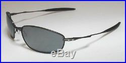 NEW Oakley POLARIZED Whisker Pewter / Black Iridium Polarized lens, 12-849