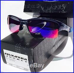 oakley youth golf sunglasses  new oakley quarter jacket blue w red iridium youth sunglass golf basebal 9200 04