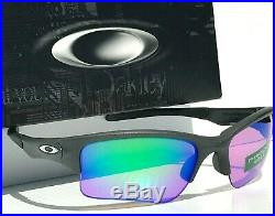 NEW Oakley QUARTER JACKET Grey PRIZM GOLF lens Sunglass Baseball 9200-19
