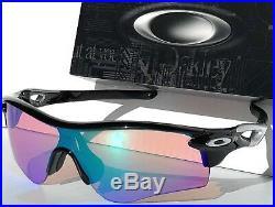 NEW Oakley Radar Black w PRIZM GOLF Lens Sunglass oo9206-25