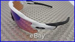 NEW Oakley Radar EV Path Sunglasses Polished Whiite Frame / Prizm Golf Lens