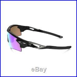 NEW Oakley Radarlock Path sunglasses Black Prizm Golf + Slate Iridium oo9181-42
