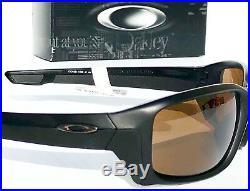 NEW Oakley STRAIGHTLINK Black Prizm Tungsten Polarized Golf Sunglass 9331-13