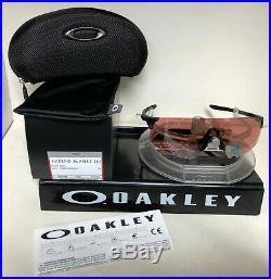 NEW Oakley Sunglasses EVZERO BLADES (A) OO945A-0338 STEEL / PRIZM DARK GOLF