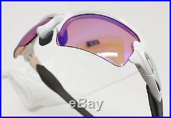 NEW Oakley Sunglasses Flak 2.0 (AF) Polished White Prizm Golf OO9271-10