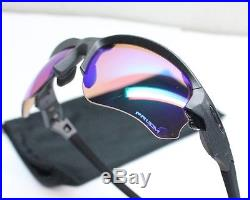 NEW Oakley Sunglasses Flak Draft Steel Prizm Golf OO9364-0467