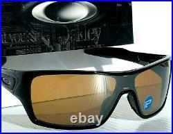 NEW Oakley TURBINE ROTOR Black POLARIZED Tungsten Golf Sunglass 9307-06