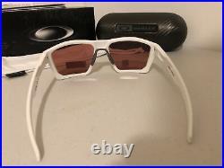 NEW Oakley Targetline Sunglasses White Prizm Dark Golf 9397-0658 AUTHENTIC 5816
