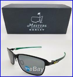 NEW Oakley Tinfoil sunglasses Masters Collection Golf Matte Black Polar 6018-07