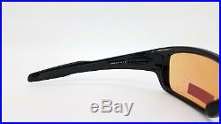 NEW Oakley Turbine sunglasses Polished Black Prizm Golf 9263-30 AUTHENTIC 9263