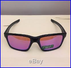 da3670fd89b NIB Oakley Mainlink PRIZM GOLF Polarized Polished Black Sunglasses OO9264-23