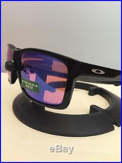 Oakley Mainlink Prizm >> Nib Oakley Mainlink Prizm Golf Polarized Polished Black Sunglasses
