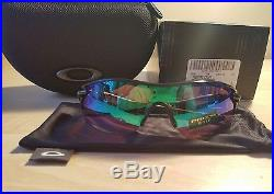 NIB Oakley RadarLock Path Sunglasses #9181-42 Prizm Golf + Slate Iridium Lens