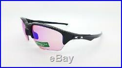 NWD Oakley Flak Beta sunglasses 9363-04 Polished Black Prizm Golf Lens AUTHENTIC
