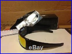 Neu Oakley Batwolf Sonnenbrille, Mattschwarz Tinte / Ruby Iridium, OO9101-38