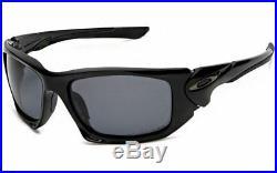 Neu Oakley Polarized Skalpell Poliert Schwarz/Grau Polarized, OO9095-05