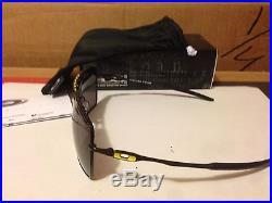 Neu Oakley Valentino Rossi VR46 Deviation Poliert Schwarz/Warmes Grau, OO4061-10
