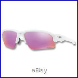 New 2019 Oakley Flak Draft Sunglasses Polished White Prizm Golf
