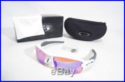 New OAKLEY FLAK 2.0 XL MEN'S SUNGLASSES Polished White/Prizm Golf