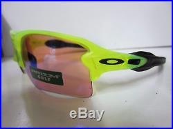 New OAKLEY Flak 2.0 XL Uranium withPrizm Golf lenses Sunglasses OO9188-11