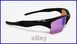 New OAKLEY Half Jacket 2.0 XL Polished Black / Prizm Golf Sunglasses OO9154-49