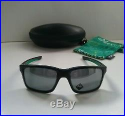 New OAKLEY MAINLINK GOLF MASTERS EDITION Matte Black with Blk Sunglasses holbrook