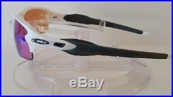 New OAKLEY Men's FLAK 2.0 PRIZM GOLF Sunglasses Polished White OO9295-06