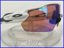 New OAKLEY RADAR EV PITCH PRIZM GOLF Sunglasses Polished White OO9211-05