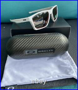 New OAKLEY TARGETLINE Prizm Sunglasses Red Mirror White Reg$156 Prizm Golf