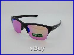 New OAKLEY THINLINK OO9316-05 Matte Black Ink/Prizm Golf 63mm Sunglasses