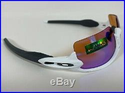 New OAKLEY Unisex FLAK 2.0 PRIZM GOLF Sunglasses Polished White OO9295-06