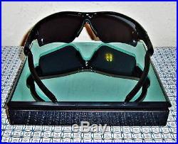 New Oakley 09-670 Men's Radar Path Golf Sunglasses Jet Black/grey