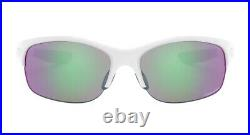 New Oakley Commit SQ Sunglasses Womens Sport Polished White With Prizm Golf Lens