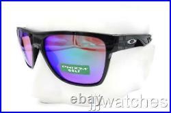 New Oakley CrossRange XL Polished Black PRIZM Golf Rx. Sunglasses OO9360 04-58