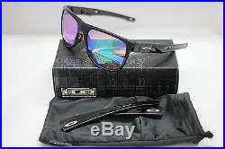 New Oakley Crossrange XL Sunglasses Polished Black   Prizm Golf 9360-0458 cbe562e9232