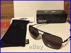 new oakley deviation sunglasses matte black warm grey oo4061 01 rh oakley golf sunglasses com