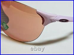 New Oakley Evzero Ascend Sunglasses Pink Frame Prizm Dark Golf Lens Womens